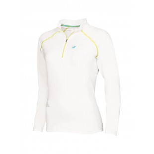1/2 ZIP WOMEN WHITE
