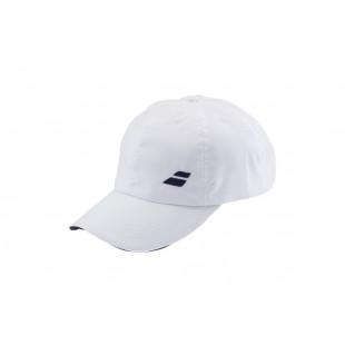 BASIC LOGO CAP white/blue
