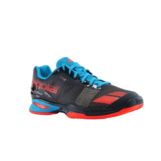 JET CLAY grey/red/blue