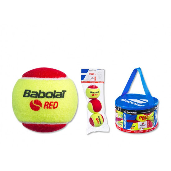 babolat  RED FELT lopty x3