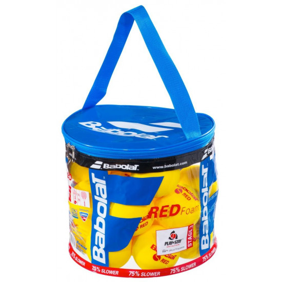 babolat RED FOAM lopty x24