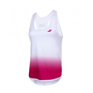 COMPETE TANK TOP white/red