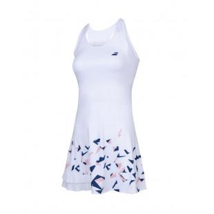 COMPETE DRESS white/e.blue