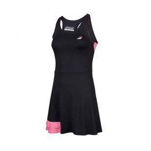 COMPETE DRESS black/pink