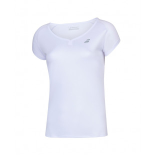 PLAY CAP SLEEVE TOP white/white