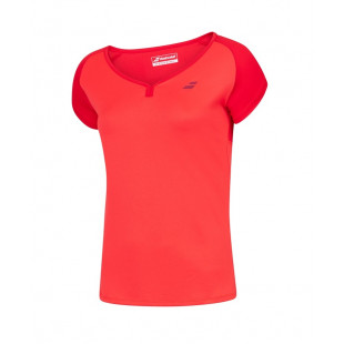 PLAY CAP SLEEVE TOP tomato red