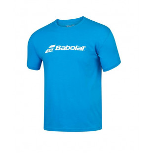 EXCERCISE BABOLAT TEE blue aster