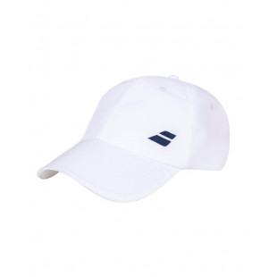 BASIC LOGO CAP white/white