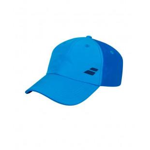 BASIC LOGO CAP blue aster