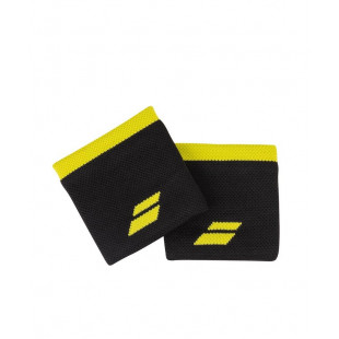 LOGO WRISTBAND black/yellow