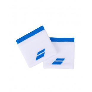 LOGO WRISTBAND white/blue
