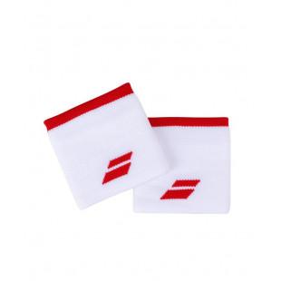 LOGO WRISTBAND white/tomato red