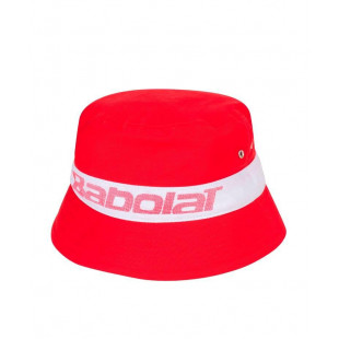 BUCKET HAT tomato red